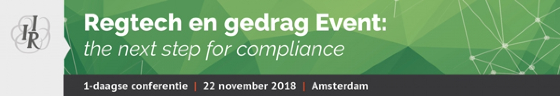 Regtech & gedrag Event: the next step for compliance